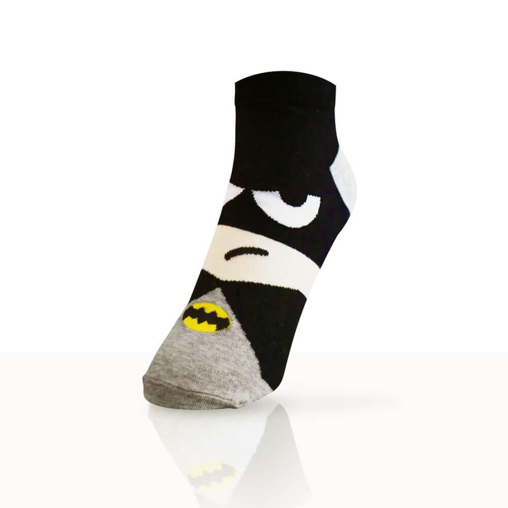 socks with batman's face
