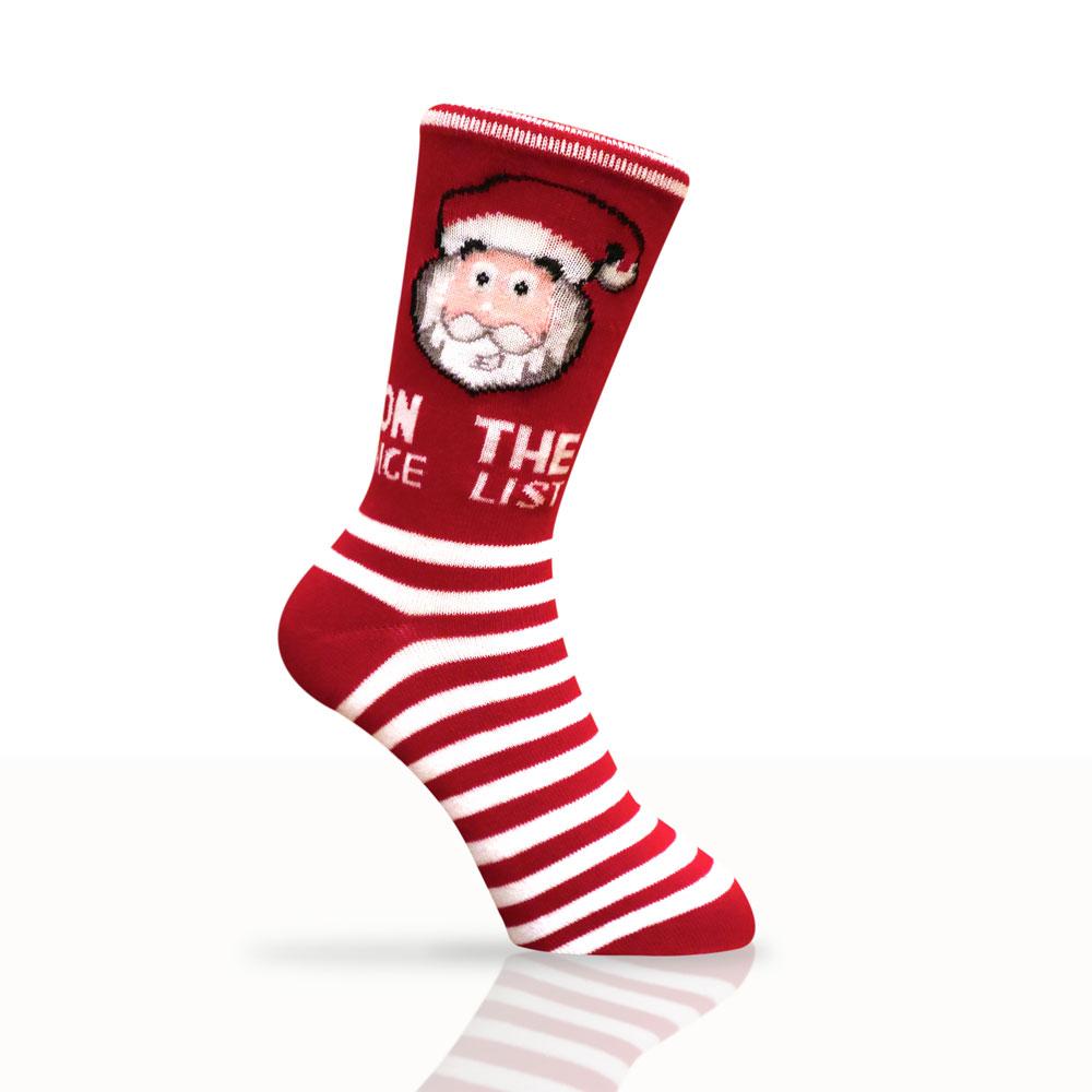 Santa's Nice List Socks