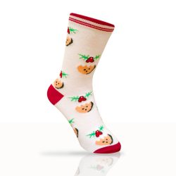 Mistletoe Socks