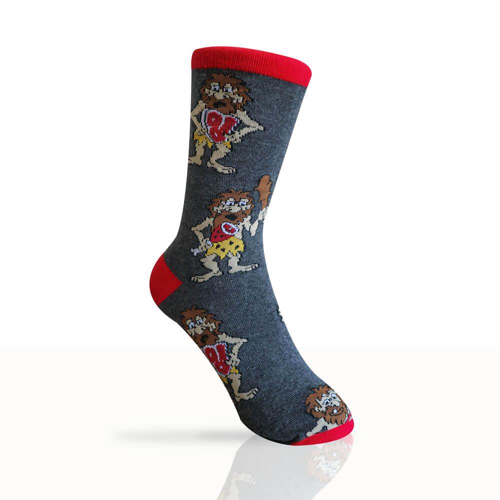 caveman socks