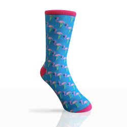 flamingo socks