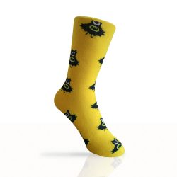 yellow batman socks