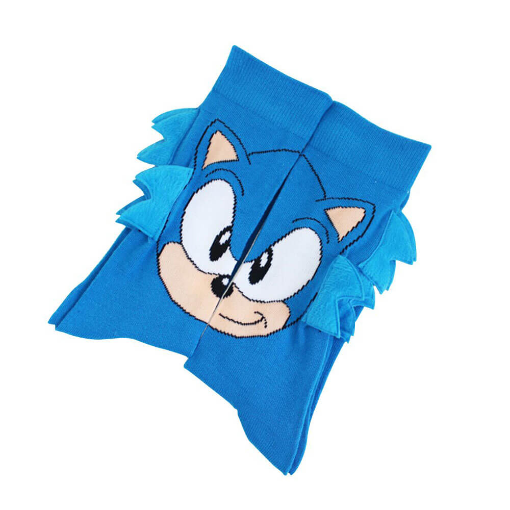 sonic the hedgehog laying flat